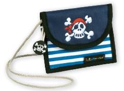 Neckpouch Jolly Roger