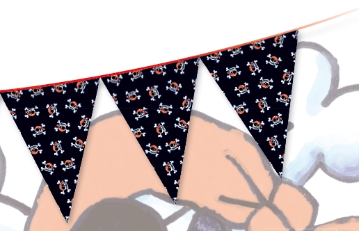11101, Pirate Bunting