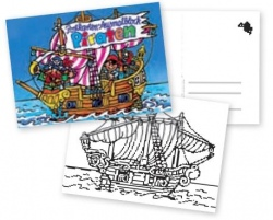13106, Colouring in Pirates