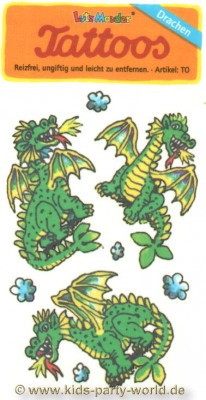44514, Tattoo Dragons1