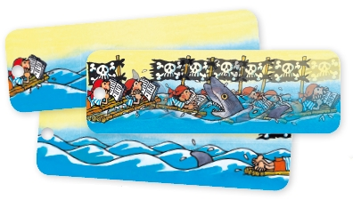 52013, MP Bookmark Pirates